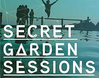 EVENT BRANDING :: ΔVΔNT GΔRDEN | Secret Garden Sessions