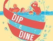 Dip & Dine: Poster Design