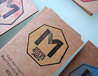 Stamped business Cards. Maria Quilez