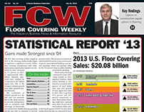 Floor Covering Weekly Stats Report