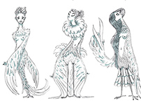 HARPIES SKETCHES