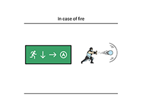 Safety signs explained by superheroes