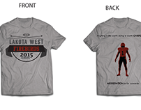 Lakota West T-shirt Design