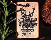 Venison Gusto logo design