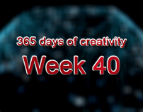 365 days of creativity/art - Week 40