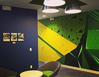 Valorem office mural