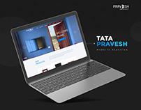 Tata Pravesh Website Redesign