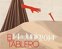 Poster to promote the Zafra XVII edition in Maspalomas