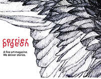 Carrier Pigeon Mag (Website Redesign)