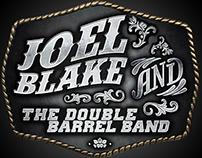 Joel Blake & The Double Barrel Band Logo