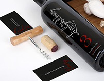 packaging design for limited edition 100 wine bottles