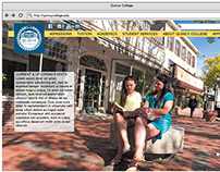 Quincy College Responsive Website