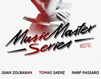 MUSIC MASTER SERIES - PARTY FLYER