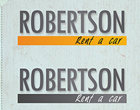 Branding Robertson Rent a Car
