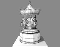 3D modeling: Music Box (July 2014)