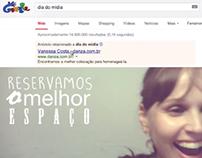 Ação com Google Adwords - Dia do mídia.