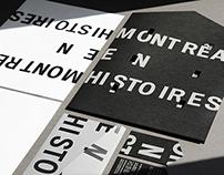 Montréal en histoires / Branding