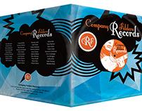 Record Label Design Template [Free PSD]