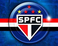 SÃO PAULO FUTEBOL CLUBE EU ♥ JOGO DE BOTÃO