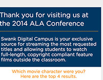 2014 ALA Follow Up Email