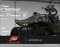 Forza Motorsport 4 | Autovista UI