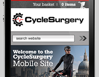 Cycle Surgery - Mobile Website