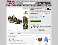 Snow+Rock - Product details page review