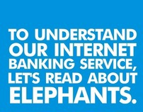 Promoting Internet Banking through reader participation
