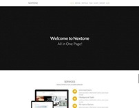 Nextone | Responsive OnePage Template - Pattern Version