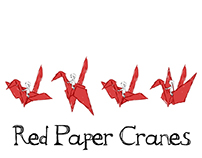 Red Paper Cranes