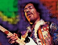 Jimi Hendrix Digital Painting