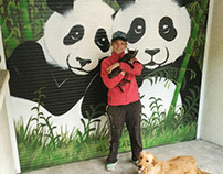 Porte de Garage Pandas
