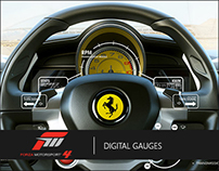 Forza Motorsport 4 | Digital Gauges