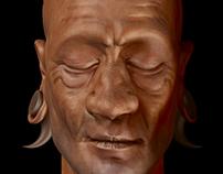 African Portrait - Sketch Study