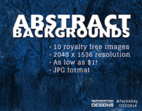 #PackADay - 7/23/14 Abstract Backgrounds