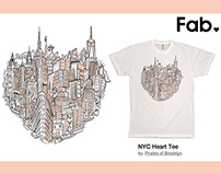 NYC-Centric City Shirts : FAB.com