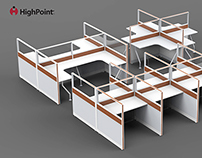 Office partition project
