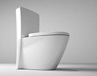 'Ann' Series - One Piece Toilet