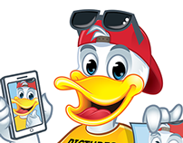 Logo + Character Poster Duck