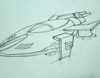 proyecto nave y edificios 3D