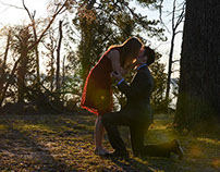 Proposal Portraits – Micah & Laura