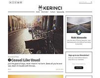 Kerinci - Minimalist Modern Blog