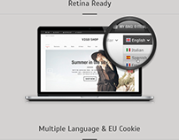 Responsive Joomla Template with Multipurpose Features