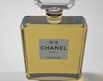 Animación 3D Chanel Nº5