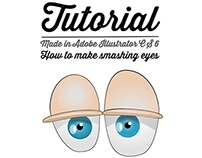 Tutorial for making cartoon eyes - have fun