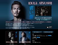 """EXILE ATSUSHI """"AOIRYU"""" SPECIAL SITE"""