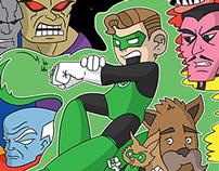 Green Lantern - The NES Game