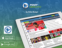 Foot Mercato tablet