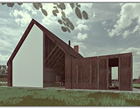 House at the edge of the forest- Architecture competion