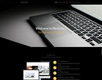 Nextone | Responsive OnePage Template - Dark Style